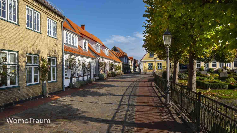 Fischersiedlung Holm in Schleswig