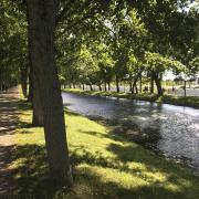 Im Park des Schweriner Schlosses