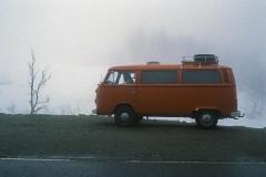 In Norwegen im Nebel