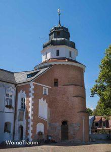 Ueckermünde mit seinem Schlossturm