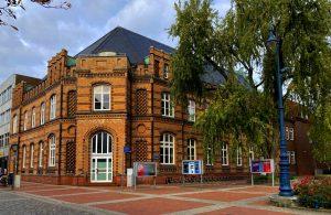 Das ehemalige Kaiserliche Postamt in der Altstadt Rendsburg