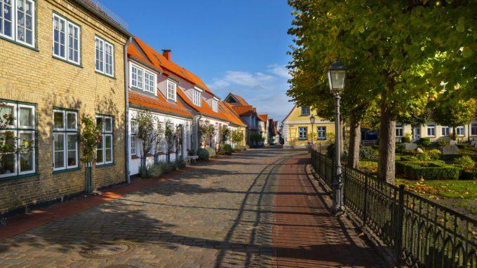 In der Fischersiedlung Holm in Schleswig an der Schlei